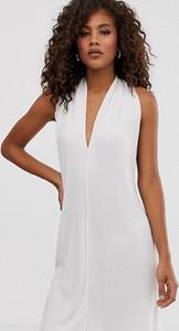 Sukienka Asos bez rękawów z dekoltem halter