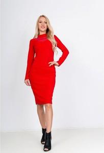 Sukienka Royalfashion.pl w stylu casual z długim rękawem
