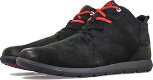 Czarne buty zimowe Caterpillar sznurowane