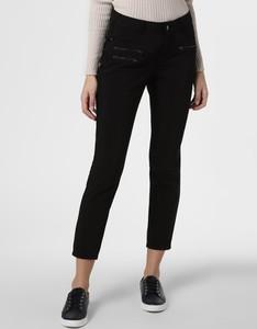 Czarne spodnie comma, w młodzieżowym stylu