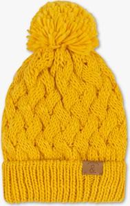 Żółta czapka C&A