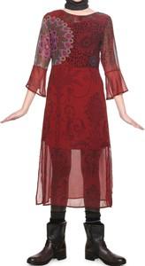 02d8e0567b Czerwone sukienki na uczelnie z Differenta.pl