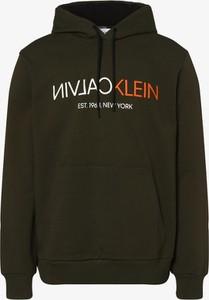 Brązowa bluza Calvin Klein