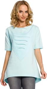 Błękitna bluzka MOE