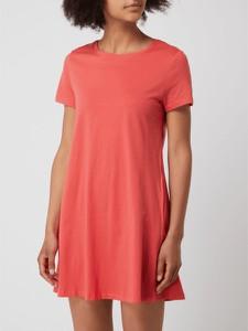 Czerwona sukienka Only w stylu casual koszulowa mini