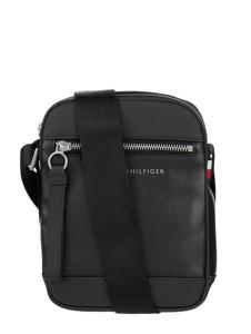 Czarna torba Tommy Hilfiger ze skóry ekologicznej