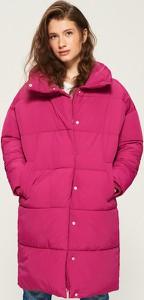 Różowy płaszcz Sinsay