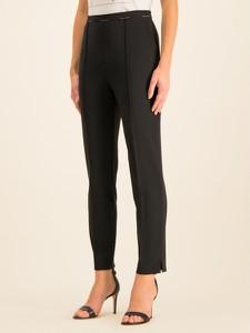 Czarne spodnie Elisabetta Franchi w stylu klasycznym