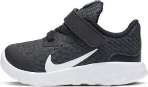 Czarne buty sportowe dziecięce Nike sznurowane