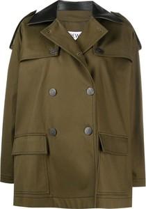 Zielona kurtka Loewe w stylu casual