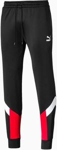 Czarne spodnie sportowe Puma z dresówki w sportowym stylu