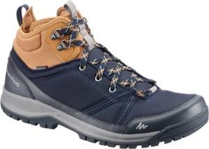 Granatowe buty trekkingowe Quechua
