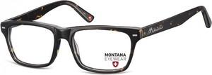 Stylion Okulary oprawki optyczne, korekcyjne Montana MA73A nerdy wayfarer szylkret