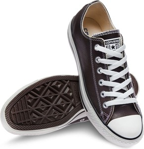 Trampki Converse ze skóry sznurowane