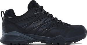Czarne buty sportowe The North Face sznurowane z goretexu
