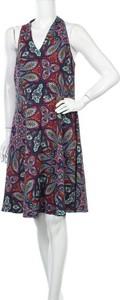 Sukienka London Times z dekoltem w kształcie litery v