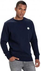 Granatowa bluza Pit Bull West Coast z bawełny w stylu casual