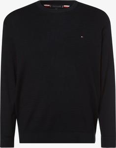 Sweter Tommy Hilfiger w stylu casual z okrągłym dekoltem
