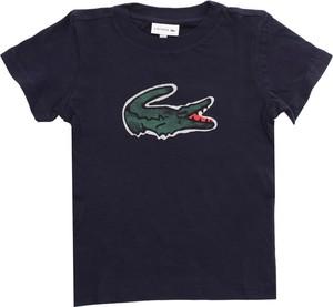 Koszulka dziecięca Lacoste z krótkim rękawem z bawełny