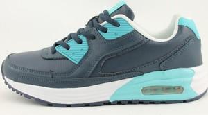 e0b5caf5e190f Granatowe buty sportowe McArthur sznurowane z płaską podeszwą