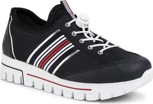 Sneakersy Rieker sznurowane