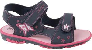 Granatowe buty dziecięce letnie Kappa