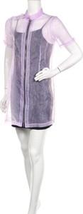 Fioletowa sukienka The Ragged Priest w stylu casual mini