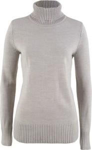 Szary sweter bonprix bpc bonprix collection