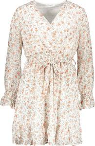 Sukienka My Summer Closet z dekoltem w kształcie litery v z długim rękawem mini