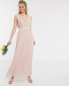 Sukienka Y.A.S z dekoltem w kształcie litery v maxi