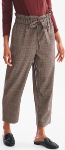 Brązowe spodnie YESSICA w stylu klasycznym