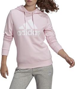Bluza Adidas z bawełny w sportowym stylu krótka