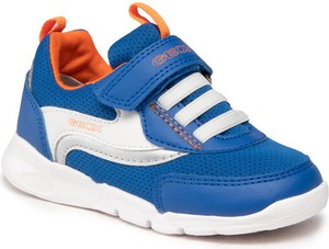 Niebieskie buty sportowe dziecięce Geox dla chłopców