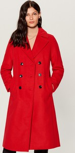 Czerwony płaszcz Mohito w stylu casual