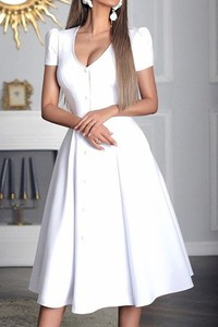Sukienka IVET rozkloszowana