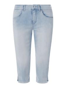 Niebieskie jeansy MAC z bawełny