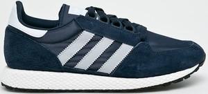 Granatowe buty sportowe Adidas Originals