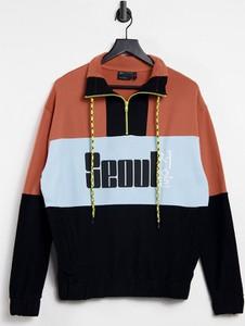 Bluza Asos w młodzieżowym stylu z nadrukiem