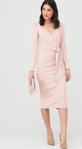 Sukienka V by Very z długim rękawem
