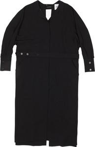 Czarny płaszcz Jil Sander w stylu casual