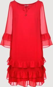 Czerwona sukienka Molton