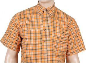Koszula Mr.unique w stylu casual z klasycznym kołnierzykiem z bawełny
