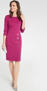 Fioletowa sukienka QUIOSQUE