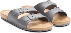 Czarne buty letnie męskie Multu w stylu casual