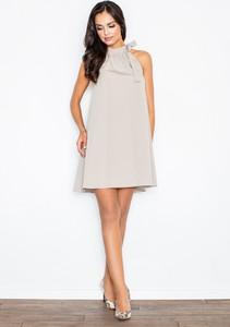Sukienka Figl z dekoltem halter bez rękawów