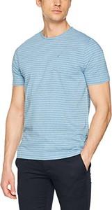 Błękitny t-shirt Camel Active