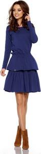 Sukienka Lemoniade z bawełny z długim rękawem w stylu casual
