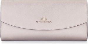 Złota torebka Wittchen ze skóry