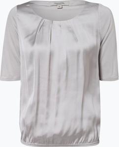T-shirt comma, z krótkim rękawem z tkaniny w stylu casual