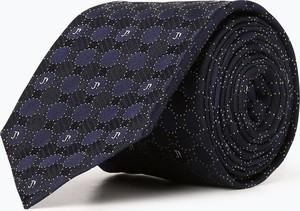 Granatowy krawat Joop! z jedwabiu